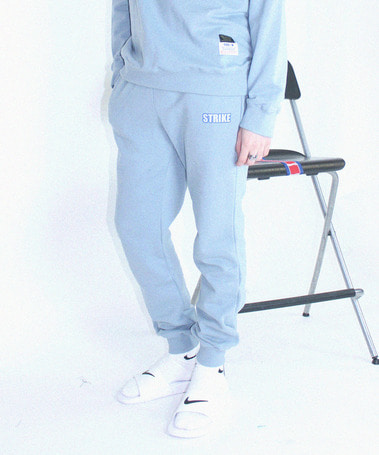 Bowling Club Sweat Pants Grey