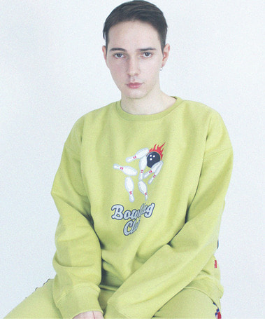 Bowling Club Crew Neck Yellow